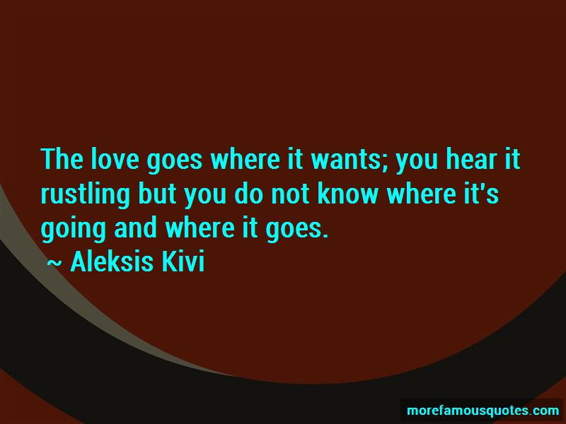 Aleksis Kivi Quotes Pictures 2