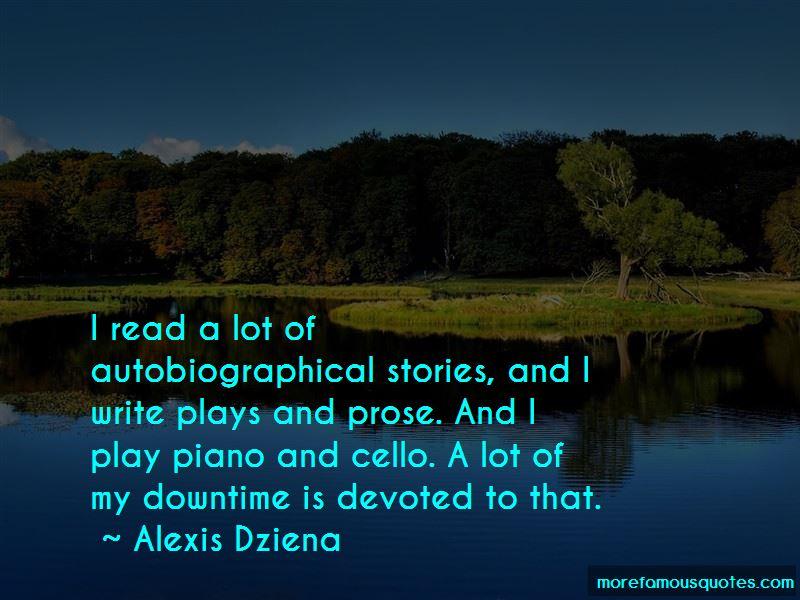 Alexis Dziena Quotes Pictures 3