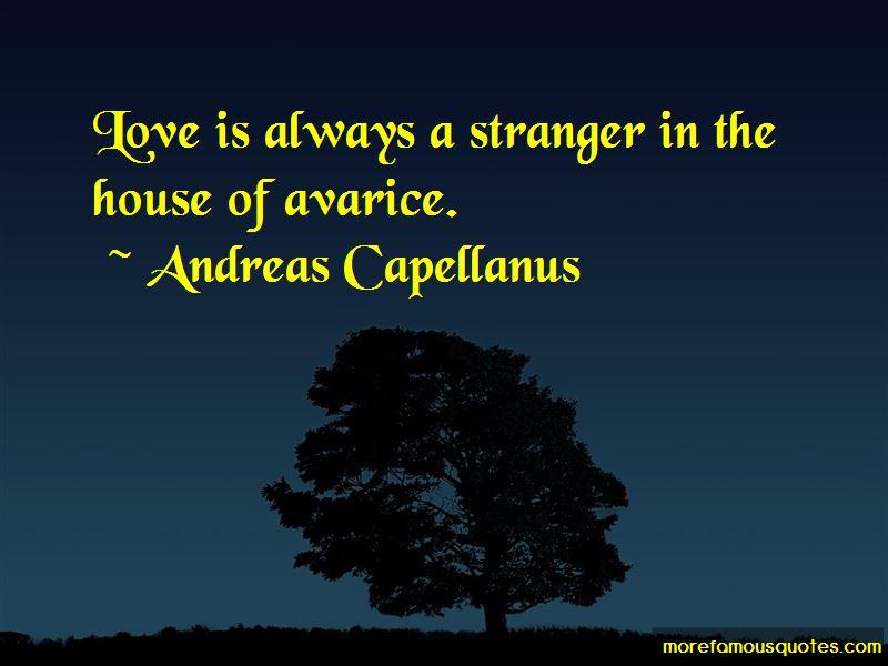 Andreas Capellanus Quotes