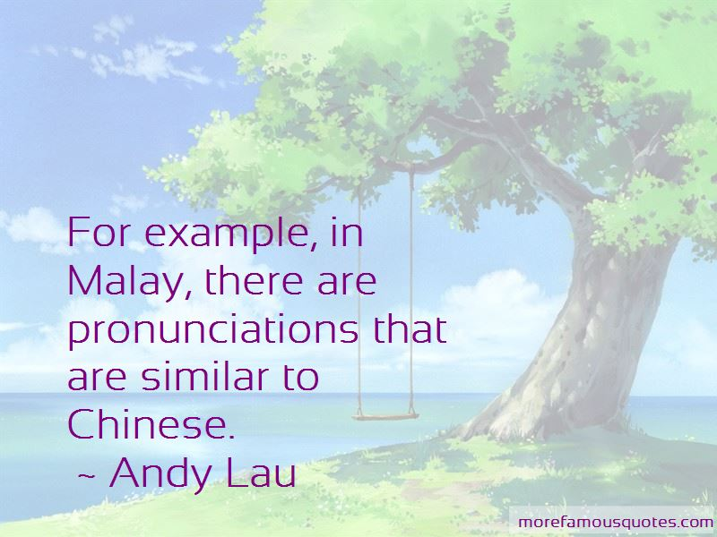 Andy Lau Quotes Pictures 3