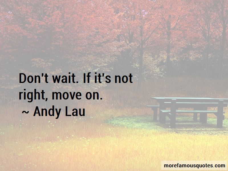 Andy Lau Quotes
