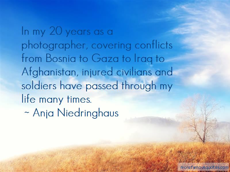Anja Niedringhaus Quotes Pictures 2