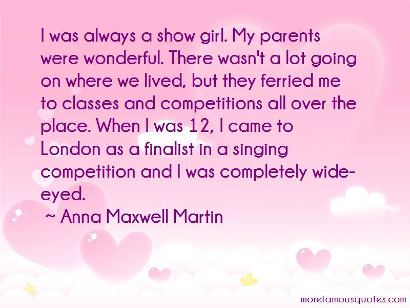 Anna Maxwell Martin Quotes
