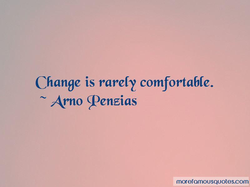 Arno Penzias Quotes