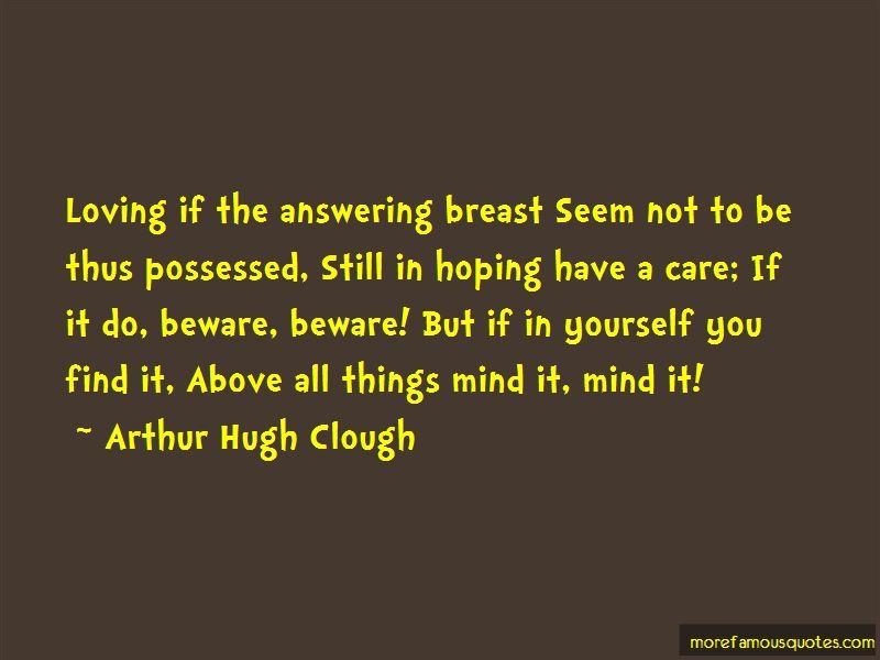 Arthur Hugh Clough Quotes Pictures 3