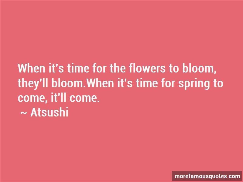 Atsushi Quotes