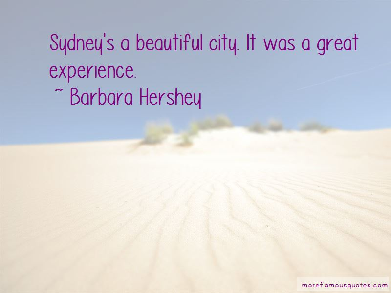 Barbara Hershey Quotes Pictures 2