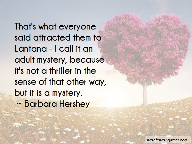 Barbara Hershey Quotes Pictures 4