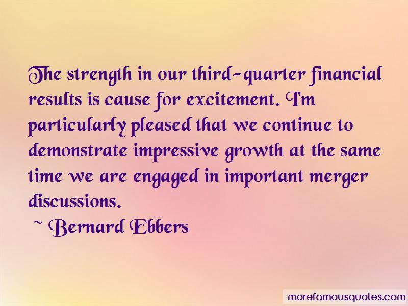 Bernard Ebbers Quotes