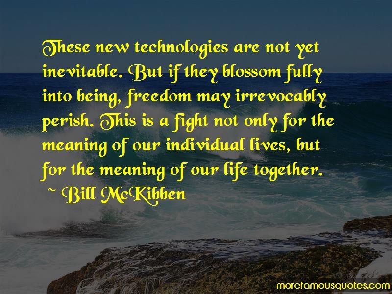 Bill McKibben Quotes Pictures 4