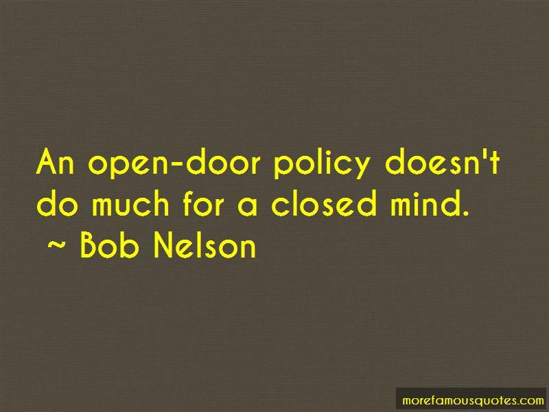 Bob Nelson Quotes