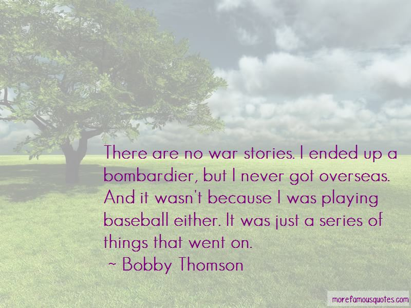 Bobby Thomson Quotes Pictures 3