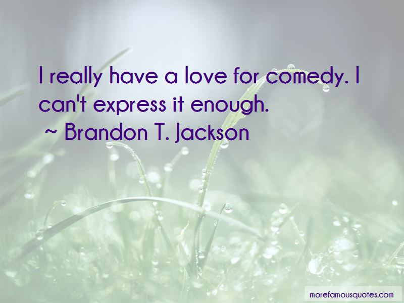 Brandon T. Jackson Quotes Pictures 2