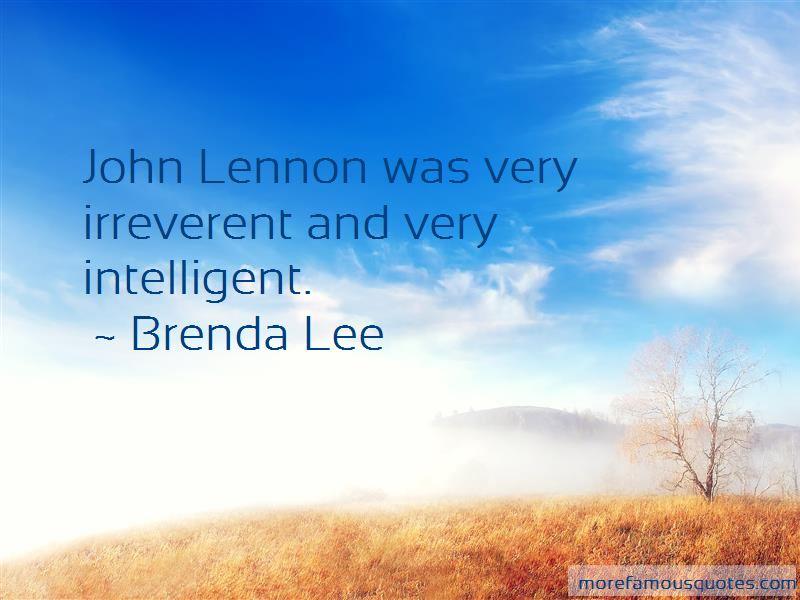 Brenda Lee Quotes Pictures 4
