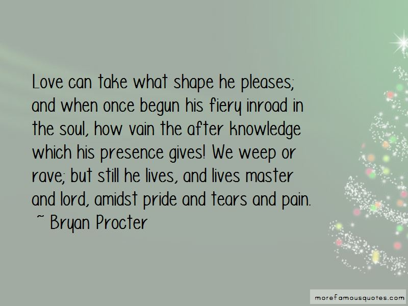 Bryan Procter Quotes Pictures 2