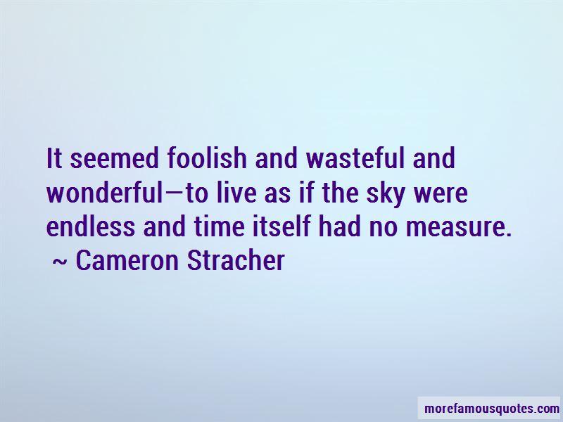 Cameron Stracher Quotes