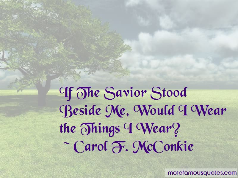 Carol F. McConkie Quotes Pictures 2