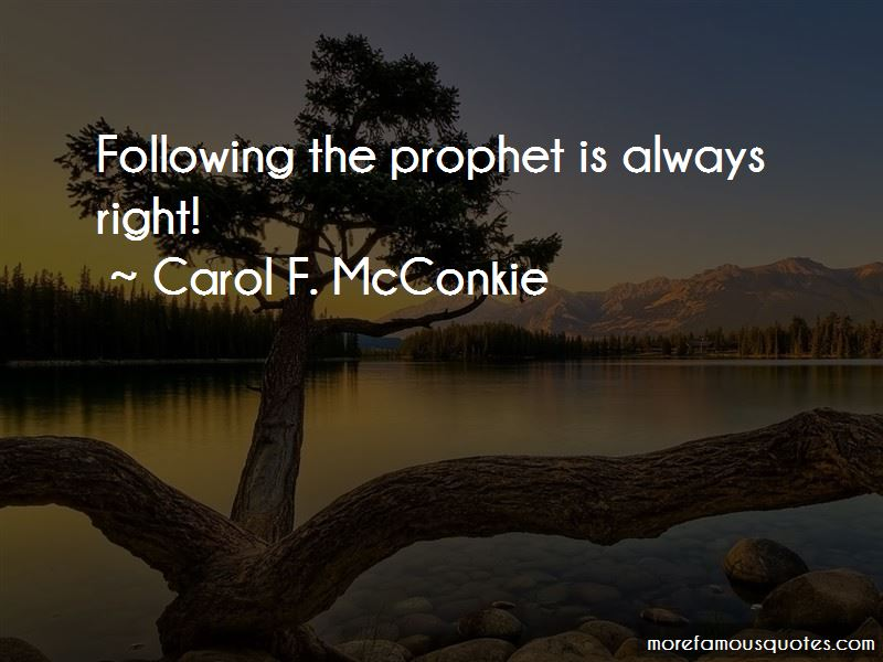 Carol F. McConkie Quotes Pictures 3