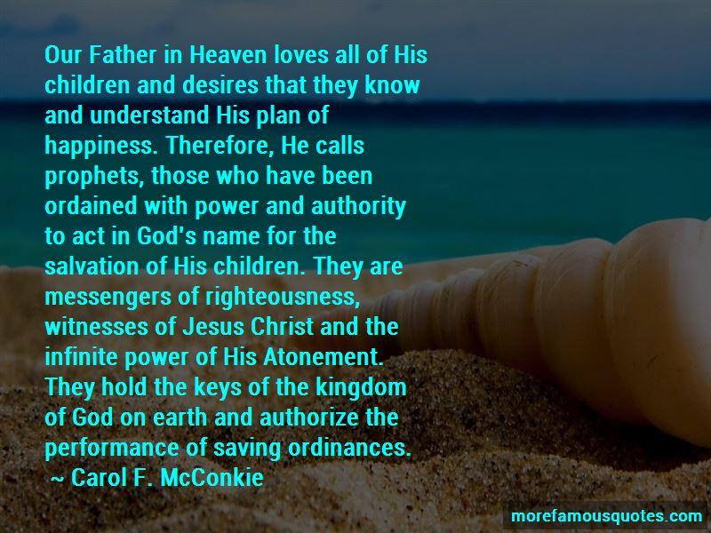 Carol F. McConkie Quotes