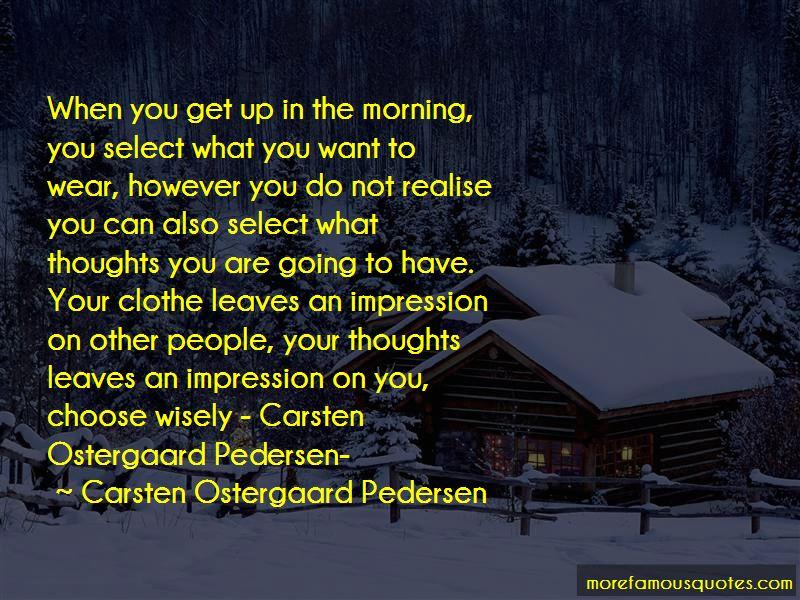 Carsten Ostergaard Pedersen Quotes Pictures 3