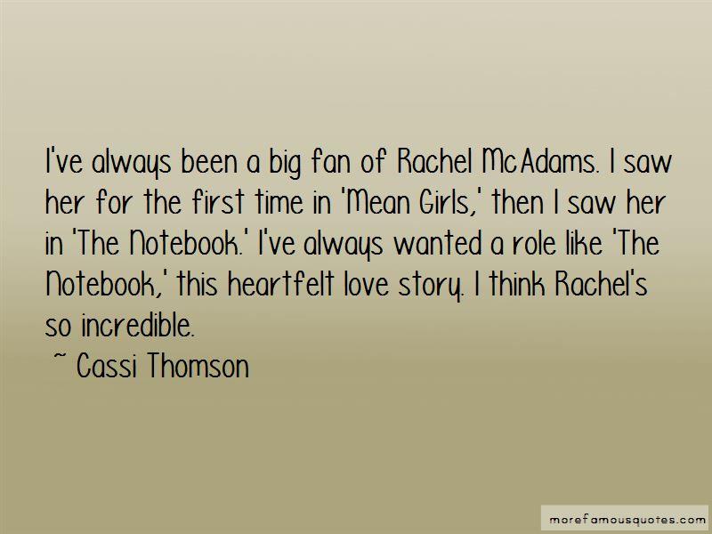 Cassi Thomson Quotes Pictures 3