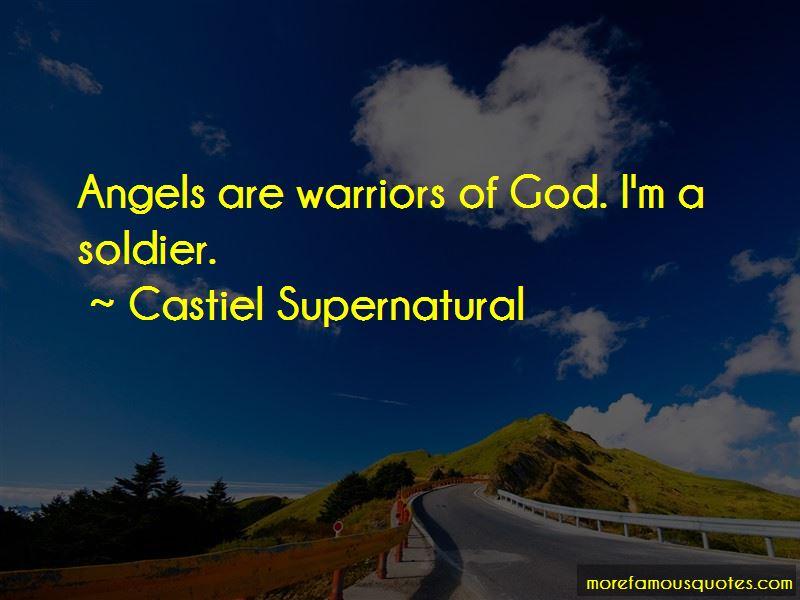 Castiel Supernatural Quotes Pictures 2