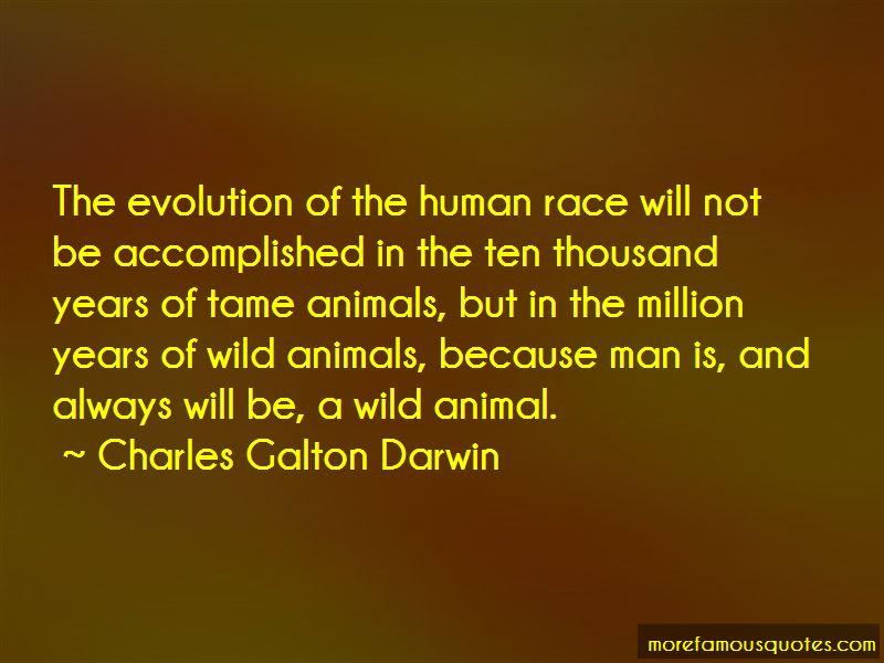 Charles Galton Darwin Quotes
