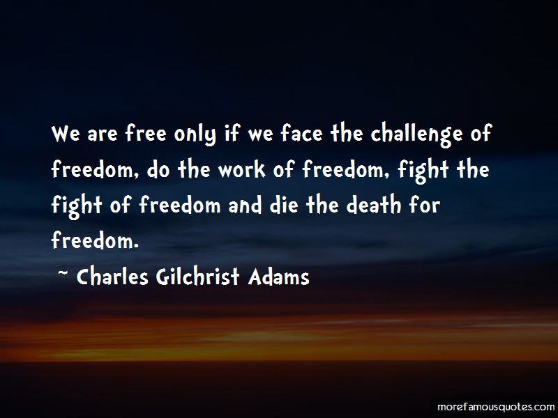 Charles Gilchrist Adams Quotes