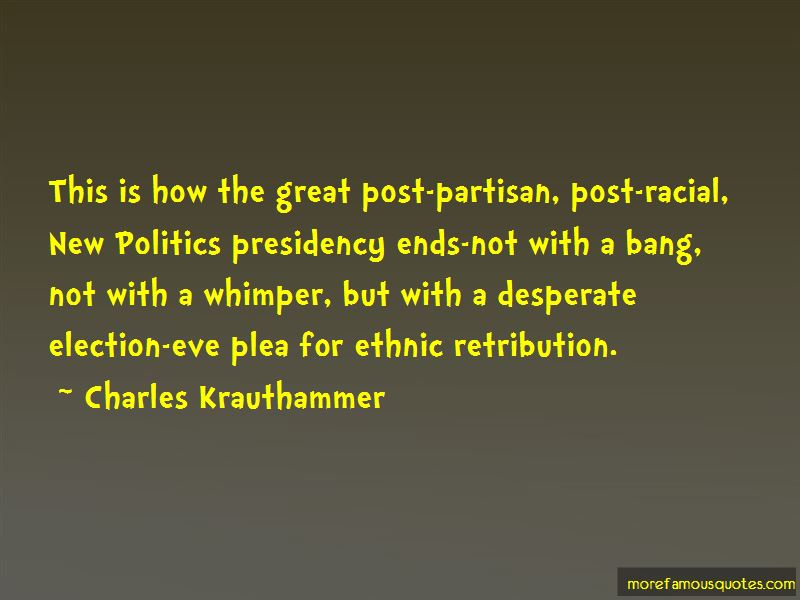 Charles Krauthammer Quotes
