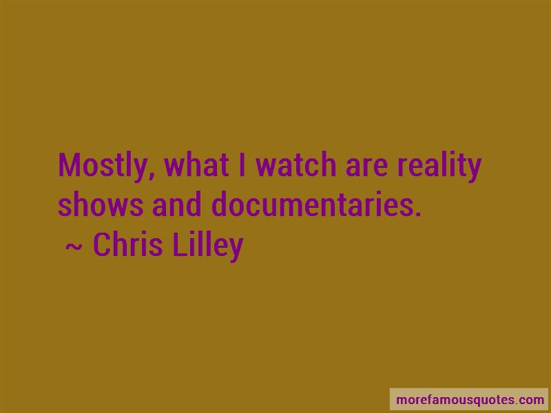 Chris Lilley Quotes Pictures 3