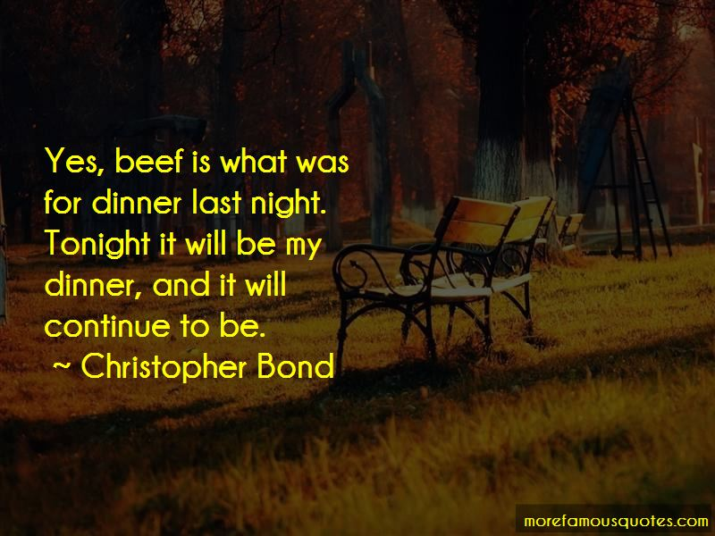 Christopher Bond Quotes Pictures 2