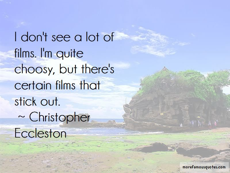 Christopher Eccleston Quotes