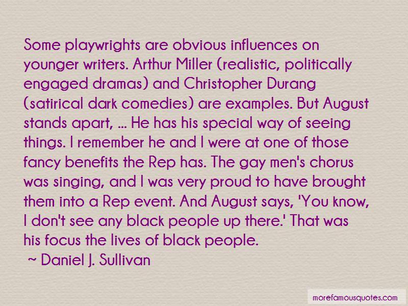 Daniel J. Sullivan Quotes