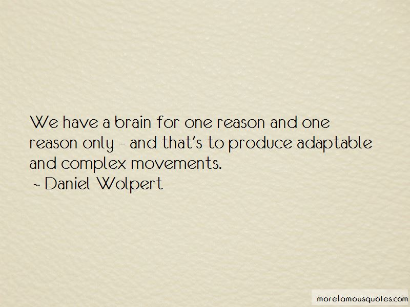 Daniel Wolpert Quotes Pictures 4