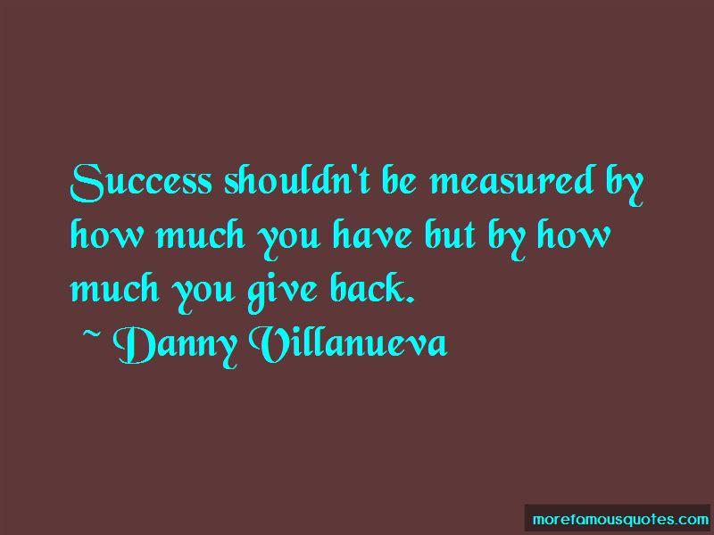 Danny Villanueva Quotes Pictures 2