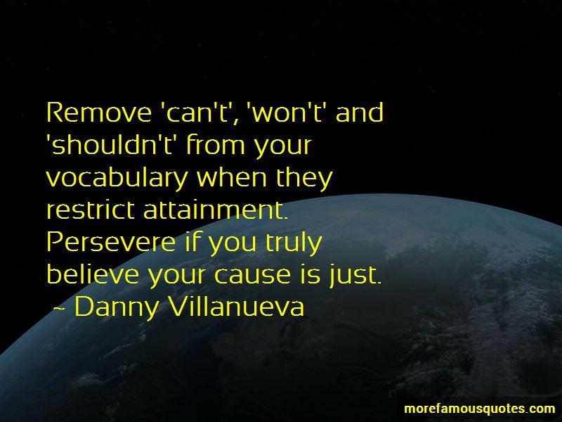 Danny Villanueva Quotes