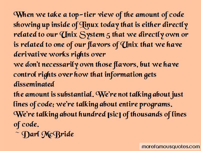 Darl McBride Quotes