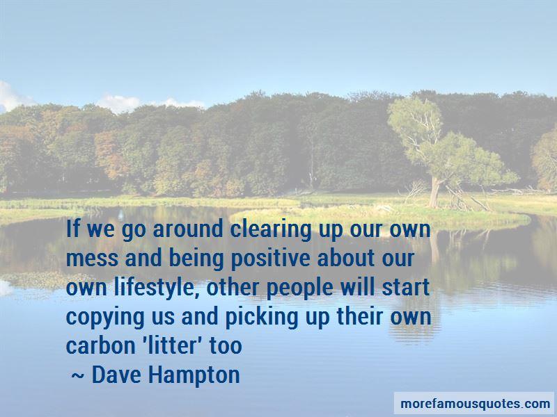 Dave Hampton Quotes
