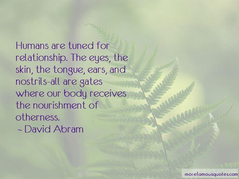 David Abram Quotes Pictures 2
