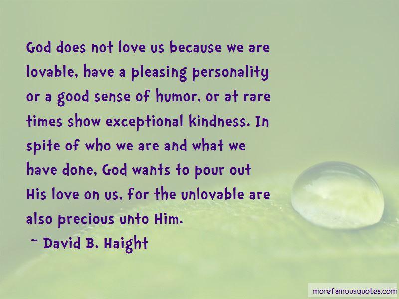 David B. Haight Quotes