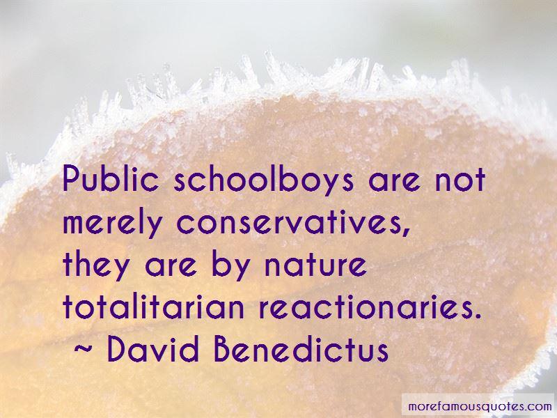 David Benedictus Quotes