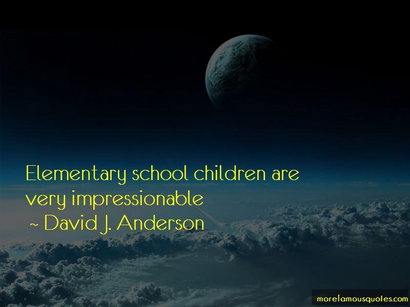 David J. Anderson Quotes