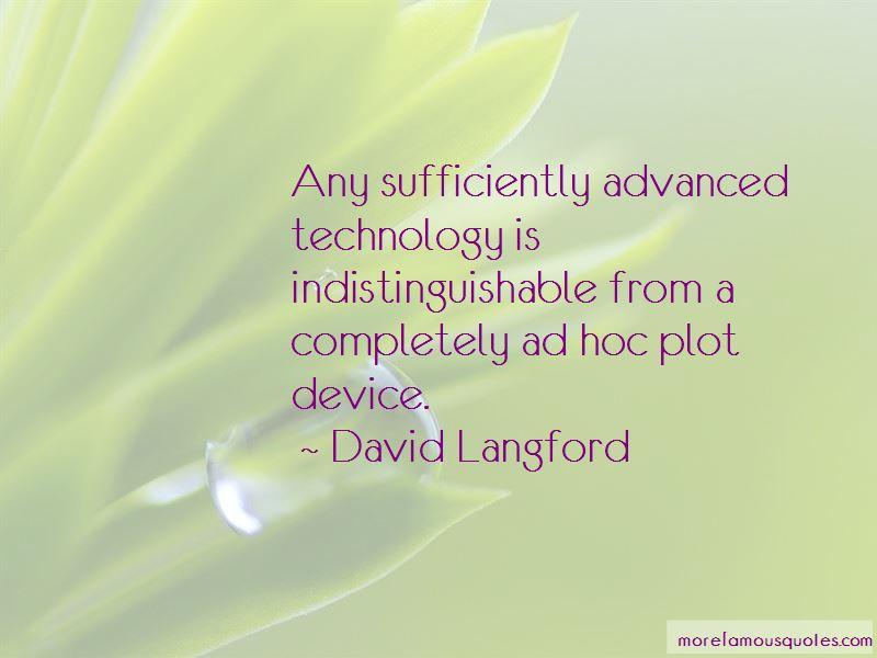 David Langford Quotes
