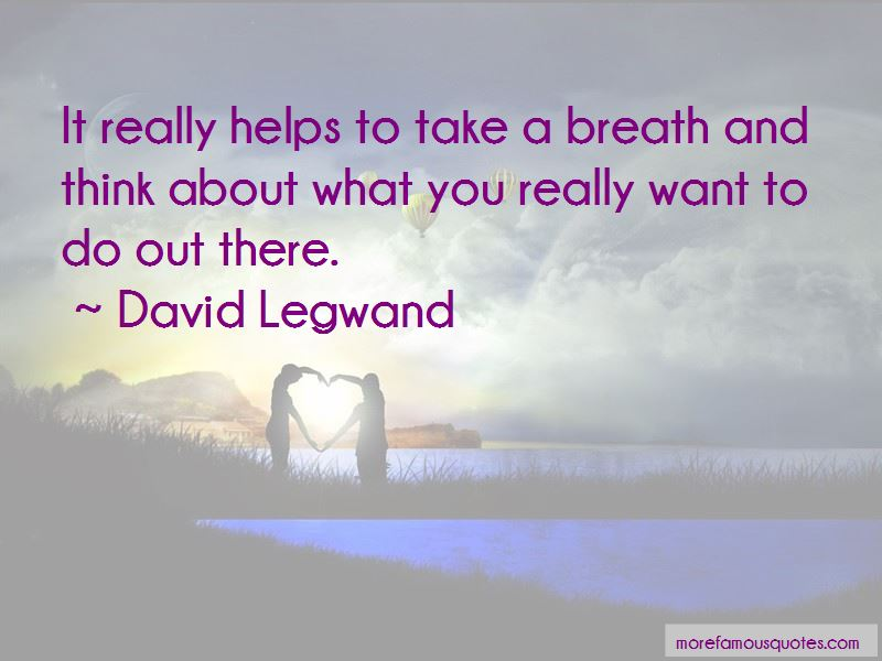 David Legwand Quotes