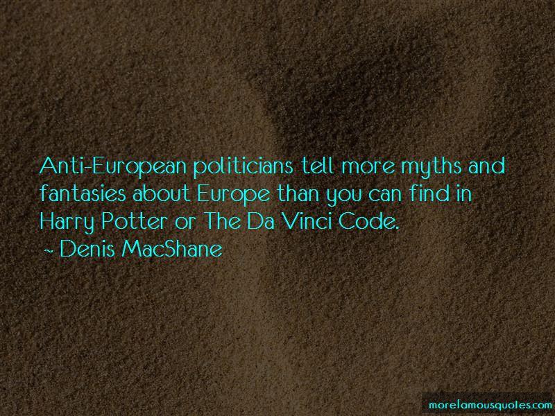 Denis MacShane Quotes Pictures 2