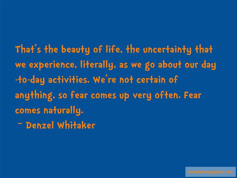 Denzel Whitaker Quotes Pictures 2