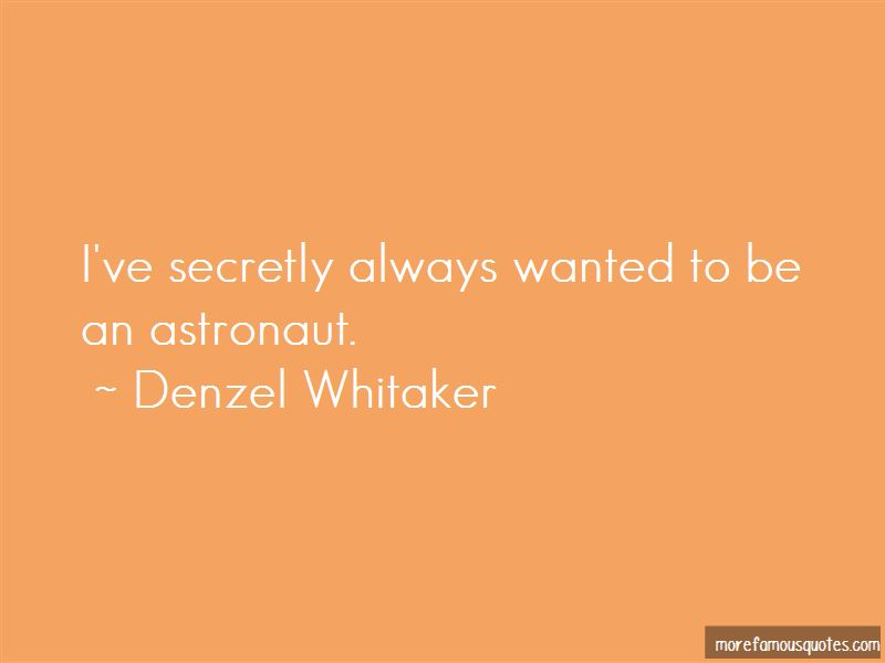 Denzel Whitaker Quotes Pictures 3