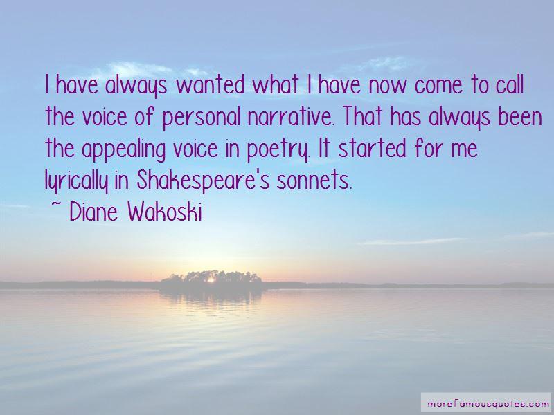 Diane Wakoski Quotes