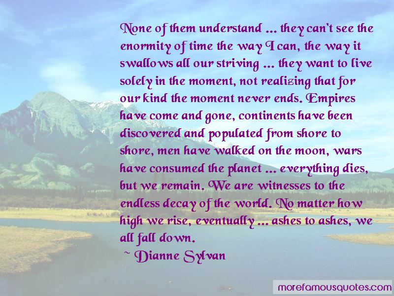 Dianne Sylvan Quotes