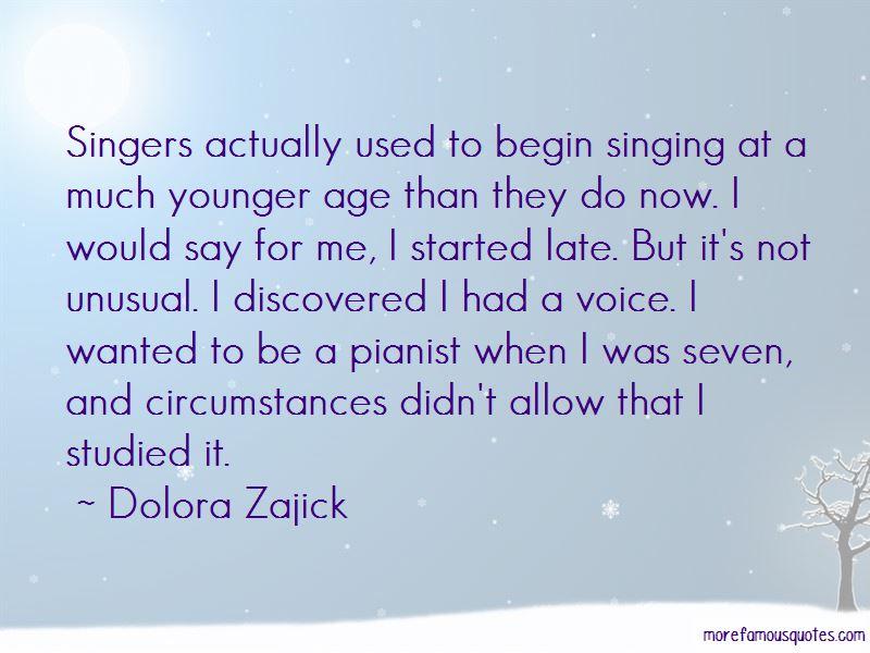 Dolora Zajick Quotes Pictures 3